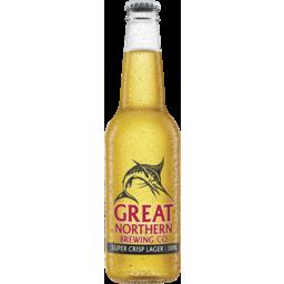 Photo of Great Northern Brewing Co Super Crisp Lager Bottles