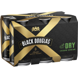 Photo of Black Douglas & Dry Cans