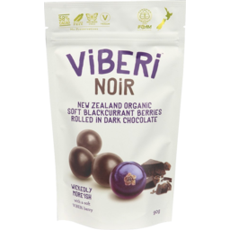 Photo of Viberi Blackcurrants Noir 90g