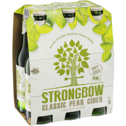 Photo of Strongbow Classic Pear Cider 6 X 355ml Bottles