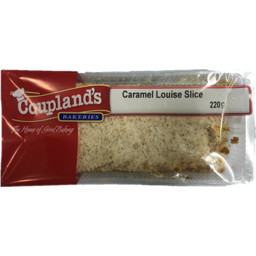 Photo of Couplands Caramel Louise Slice 220g