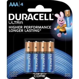 Photo of Duracell Ultra Batteries Aaa 4 Pack