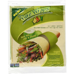 Photo of Pure Wraps Gluten Free Coconut Wraps 4 Pack