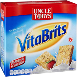Photo of Uncle Tobys Vita Brits Digestive 750gm