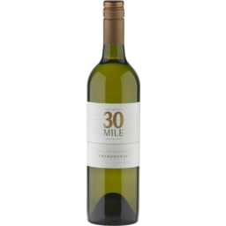 Photo of 30 Mile Chardonnay 2019 750ml