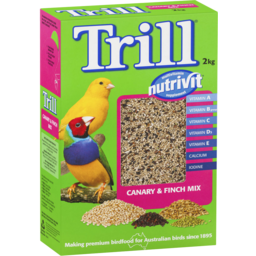 Photo of Trill Canary & Finch Mix 2kg