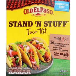 Photo of Old El Paso Stand N Stuff Kit 10 Pack