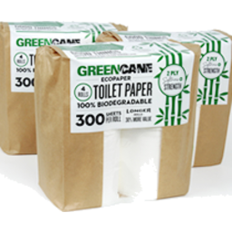 Photo of Green Cane - Toilet Paper 300 Sheets