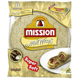 Photo of Mission Wholewheat Mini Wraps 284gm