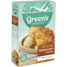 Photo of Green's Butterscotch Self Saucing Pudding