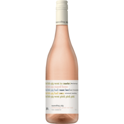 Photo of Squealing Pig Marlborough Pinot Noir Rosé Wine 2018 750ml (Case Of 6)
