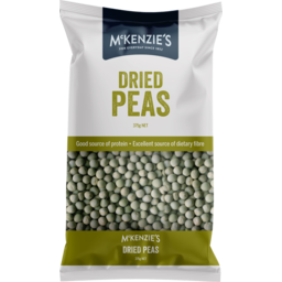 Photo of Mckenzies Dried Peas 375g