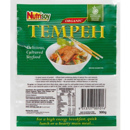 Photo of Nutrisoy Organic Tempeh 300g