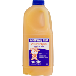 Photo of Nudie Nothing But 21 Oranges Juice Pulp Free