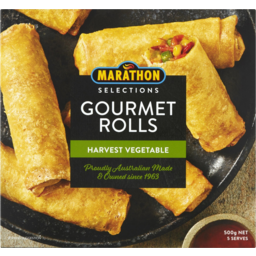 Photo of Marathon Harvest Vegetable Gourmet Rolls 500g