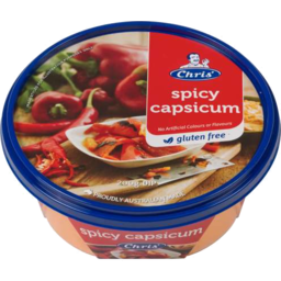 Photo of Chris Greek Dip Traditional Spicy Capsicum (200g)