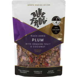 Photo of Blue Frog Collagen Granola Plum Dragonfruit And Coconut 350g