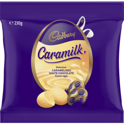 Photo of Cadbury Caramilk Easter Egg Bag 230g