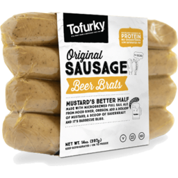 Photo of Tofurky Beer Brat Sausages 250g