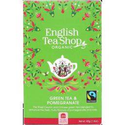 Photo of English Tea Shop Green Pomegranate 20's