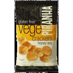 Photo of Piranha Honey Soy Vege Cracker 100gm