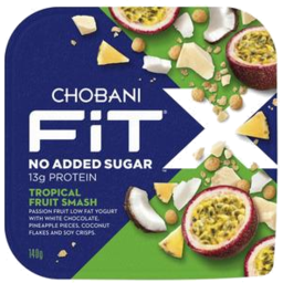 Photo of Chobani Fit X Tropical Fruit Smash 140g