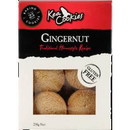 Photo of Kea Gluten Free Cookies Gingernut 250g