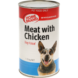 Photo of Homebrand Dog Food Chicken 1.15kg