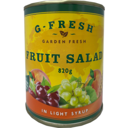Photo of G Fresh Fruit Salad In Light Syrup 820g