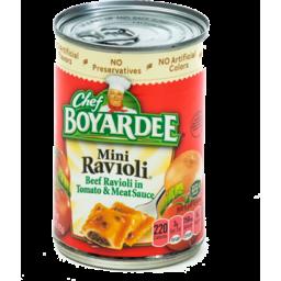 Photo of Chef Boyardee Mini Ravioli
