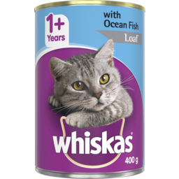Photo of Whiskas Ocean Fish Loaf 400gm