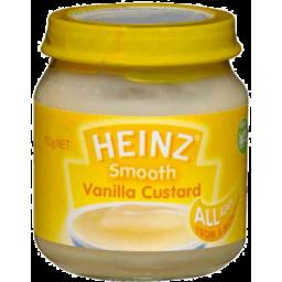 Photo of Heinz Smooth Vanilla Custard 110gm