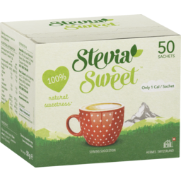 Photo of Stevia Sweet Steviasweet Sachets 50x1g