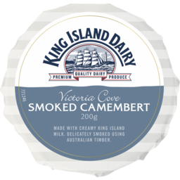 Photo of King Island Dairy Victoria Cove Smoked Camembert 200g
