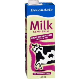 Photo of Devondale Semi Skim Milk 1ltr