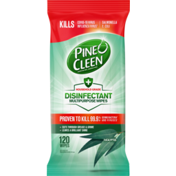 Photo of Pine O Cleen Eucalyptus Disinfectant Multipurpose Wipes 120 Pack