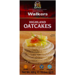 Photo of Walkers Highland Oatcakes (280g)