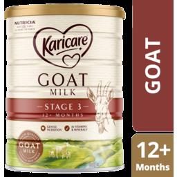 Photo of Karicare Goat Milk Stage 3 Toddler Milk Drink 12+ Months 900g