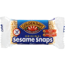 Photo of Golden Days Sesame Snaps 40g