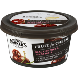 Photo of Barker's Of Geraldine Black Cherry & Pinot Noir Fruit For Cheese 210g
