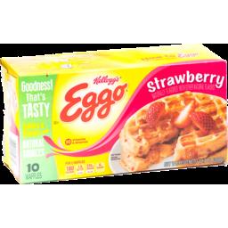 Photo of Kellogg's Eggo Strawberry Waffles- 10 Ct