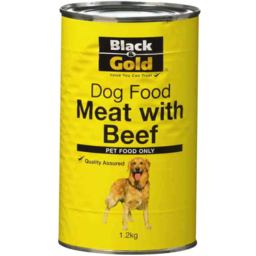Photo of Black & Gold Dogfood Meat 1.2kg