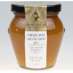 Photo of Yarra Valley Mango & Vanilla Jam 275g