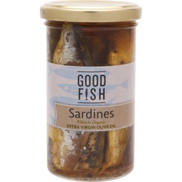 Photo of Good Fish Sardines in Olive Oil 195g