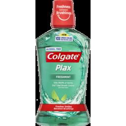 Photo of Colgate Plax Alcohol Free Freshmint Mouthwash 500ml