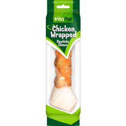 Photo of Vitapet Chicken Rawhide Bone 20cm