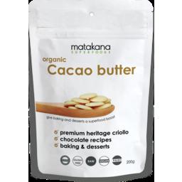 Photo of Matakana organic Cacao butter 200g