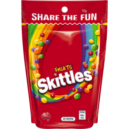 Photo of Skittles Fruits 110g