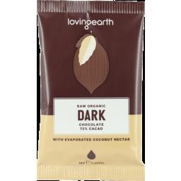 Photo of Loving Earth Chocolate - Raw Dark (72% Cacao)
