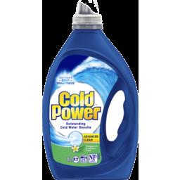 Photo of Cold Power Advanced Clean, Frangipani & Eucalyptus, Liquid Laundry Detergent, 1 Litre